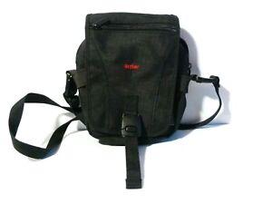 Unused Antler Brand Black Material Binoculars or Camera Case Bag with Strap Zips