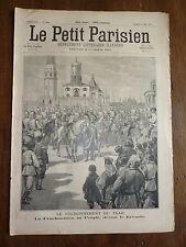 PETIT PARISIEN - 1896 N° 380 RUSSIE Kremlin couronnement du tsar