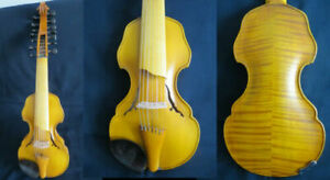 """Baroque style SONG Brand profession master 7×7 string 14"""" Viola d'Amore #14033"""