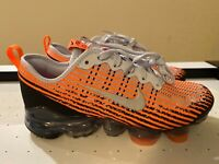 Nike Air VaporMax Flyknit 3 GS Shoes Bright Mango BQ5238-800 Size 5Y/Womens-6.5
