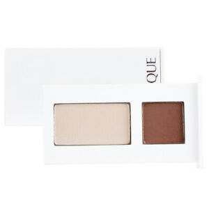 Clinique All About Shadow Duo - 01 Teddy & 04 Ivory Bisque/Bronze Satin, 0.06oz
