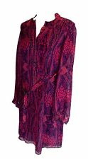 MATTHEW WILLIAMSON  Pink 100% Silk Dress, UK 10 US 6 EU 38