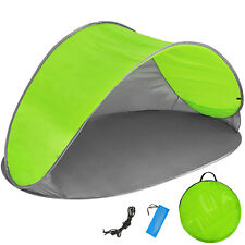 Tenda popup da spiaggia protezione UV sole campeggio parasole automatica verde n