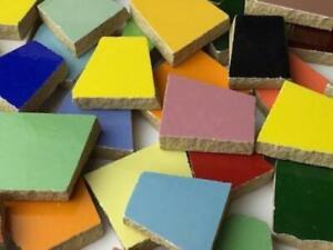 Mixed Irregular Ceramic Tiles - Mosaic Tile Supplies Art Craft