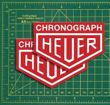 Chrono HEUER Racing Formular 1 Cafe Racer Course & Rally Voiture Super stickers moto...