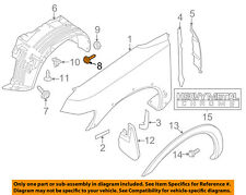 NISSAN OEM-Fender Liner Splash Shield Screw 0145100841