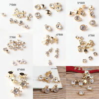 10pcs Crystal pendant Alloy DIY Earring Charms Pendant Fit Necklace Making
