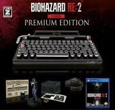 BIOHAZARD Resident Evil 2 REMAKE Z Version Premium Edition Qwerkywriter NEW!