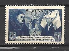 France 1943 Yvert n° 583 neuf ** 1er choix