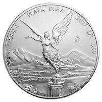 2017-Mo Mexico 1/10 Troy oz .999 Fine Silver Libertad Coin SKU47075