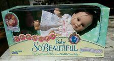 Newborn Baby So Beautiful Playmates Doll #17400 1995 NIB