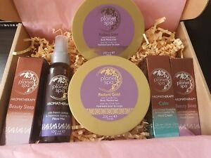 Avon Planet Spa Hand Cream, Body Moisturiser 6pc Set full large set gift