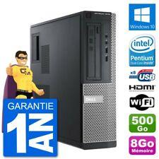 PC Dell 3010 DT G2020 RAM 8Go Disque Dur 500Go HDMI Windows 10 Wifi