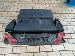 Rear Leather Seats Complete Honda CRX JDM EDM EF8 EE8 ED9 SI HF DX 88-91 @RARE@