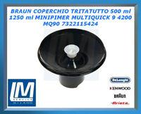 BRAUN COPERCHIO TRITATUTTO 500 ml 1250 ml MINIPIMER MULTIQUICK 9 4200 MQ90