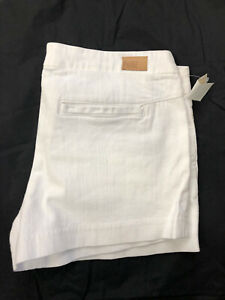 NEW Women's PAIGE DENIM WHITE Summer Shorts SIZE: 29,30,31