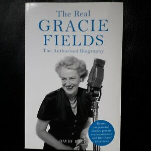 David Bret The Real Gracie Fields Authorised Biography Pre owned Good PB Book