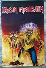 Iron Maiden Strange World Vintage Original Pace Minerva 1982 Poster Very RaRe