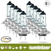 LUMINIZER  autolampe 10x H7 55W 3500K HALOGEN LAMPEN scheinwerfer  E1 px26d