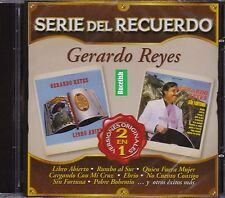 Gerardo Reyes serie del recuerdo Versiones Originales 2EN1 Cd Nuevo Nuevo