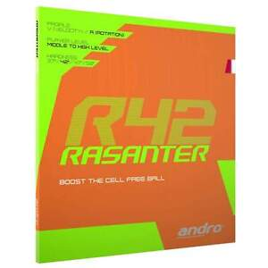 Andro Rasanter R42 Table tennis rubber UK official distributor Free P&P