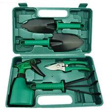 5PCS Yard Outdoor Trowel Shear Shovel Cultivator Garden Tool Set Non Slip Handle