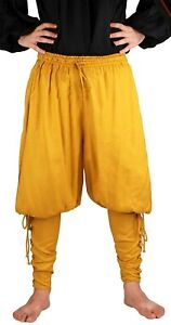 ThePirateDressing Medieval Renaissance Pirate Cosplay Costume Mens Lace-Up Pants