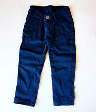 ALLIGALLI • VESTITO FIRMATO BAMBINA Pantaloni Lunghi BLU 100% MADE IN ITALY