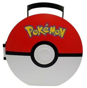POKEMON Poke Ball Hard Carrying Case Storage Figure Carrier 2011 Nintendo Jakks