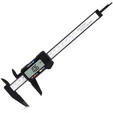 Digital Caliper Measuring Tool Large Lcd Screen 0 6inch150mm Carbon Fiber Gauge