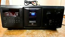 Sony CDP-CX691 300 DISC CD PLAYER WITH CORD **New belts**