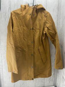 Fat Face size 6 yellow Mustard raincoat rain jacket