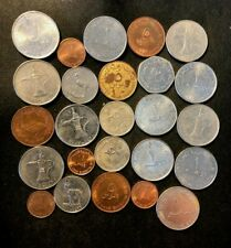 Vintage UNITED Arab Emirates Coin Lot - 25 Great Islamic Coins - LOT #M28