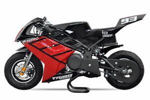 Elektro Pocketbike PS50 Tribo 1060W Kinderbike Rennbike Dirtbike Minibike Bike