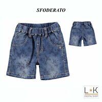 Bermuda di Jeans Neonato Denim Sarabanda Q650