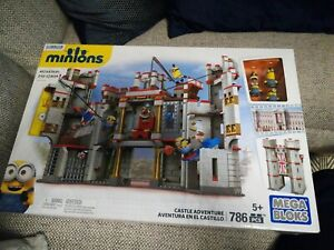 Mega Bloks Minions Castle Adventure Set  786 pcs New