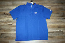 "adidas Kansas Jayhawks ""KU"" Golf Polo Shirt - Men's XL - NWT"