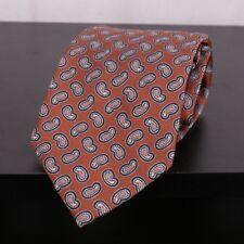 JOS A BANK Executive Collection Copper Multi Paisley Men's Silk Necktie Tie