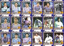 Real Madrid 1986 UEFA CUP Winners football trading cards