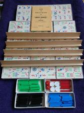 Vintage Mah-Jongg Juego Por Jackpot-H.p. Gibson & Sons Ltd LONDRES-Juego Completo