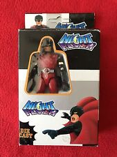 Vintage Night Flyer Die Cast Action Figure Batman KO Rare Red Made In Italy