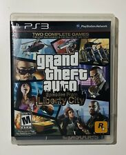 Grand Theft Auto IV & Episodes From Liberty City Playstation 3 (PS3) COMPLETE