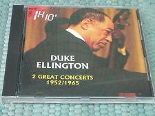 Duke Ellington 2 Great Concerts 1952/1965 CD  Import Rare France Accord Jazz