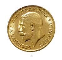 1911 ~ Australia George V Annual Half Sovereign Gold Coin
