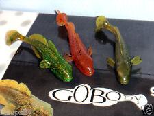 3 Pz Gobody Iron Claw Ghiozzo Ghiozzo di gomma Esca artificiale 9 cm