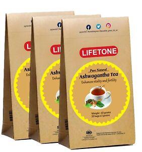 Ashwagandha Tea   The Herbal Mood Booster   Sleep Easy Tea