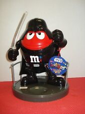10 in. M&M'S World Star Wars ESB Darth Vader Candy Dispenser Brand New