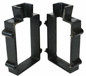 Cast Iron 2-Part Flask Mold for Sand Casting Jewelry Making Tool