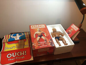 Authentic and Rare Stretch Armstrong KENNER 1976 WITH ORIGINAL BOX! VINTAGE TOY