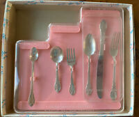 Vintage 1847 Rogers Bros Silver Plated Step-Up Set for Children